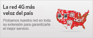 La red 4G ms veloz del pas: probamos nuestra red en toda su extensin para garantizarte el mejor servicio.